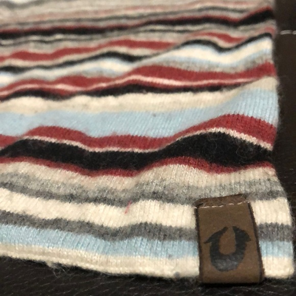 True Religion Accessories - Striped Multicolored True Religion Scarf